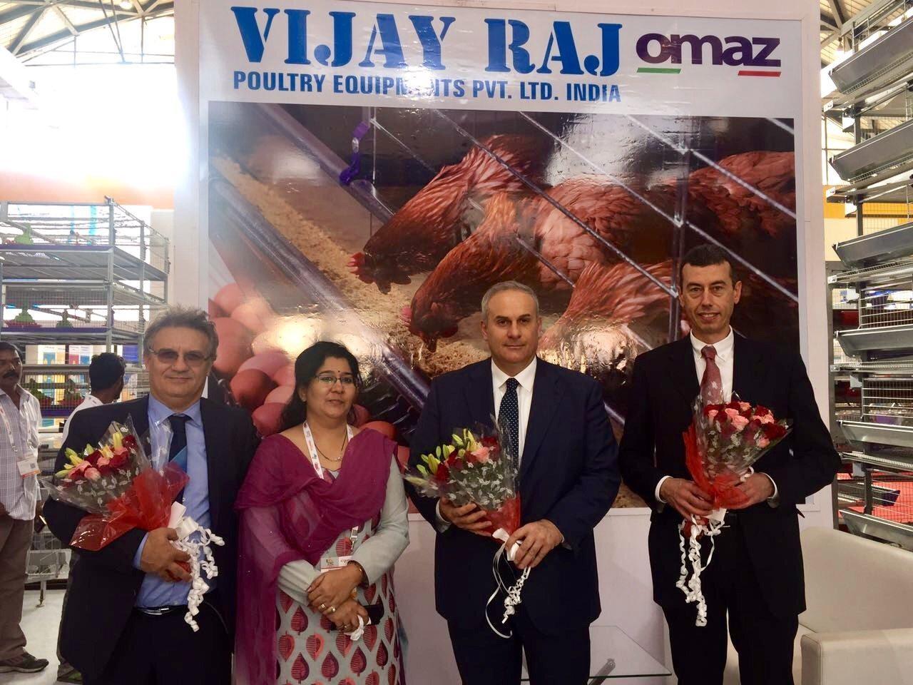 OMAZ at Poultry India 2016 – OMAZ Srl